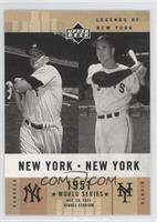 Mickey Mantle, Bobby Thomson