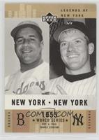 Mickey Mantle, Roy Campanella