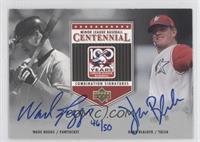 Wade Boggs, Hank Blalock /50