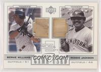 Bernie Williams, Reggie Jackson
