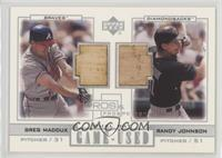 Greg Maddux, Randy Johnson