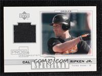 Cal Ripken Jr. [Noted]