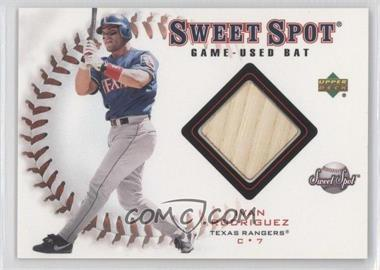 2001 Upper Deck Sweet Spot - Game-Used Bats #B-IR - Ivan Rodriguez