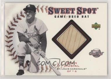 2001 Upper Deck Sweet Spot - Game-Used Bats #B-SM - Stan Musial