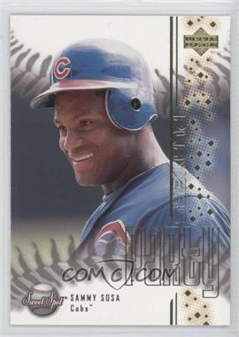 2001 Upper Deck Sweet Spot - Players Party #PP9 - Sammy Sosa