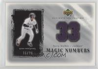 Larry Walker #/20