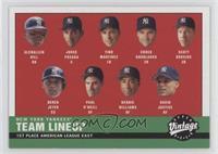2000 Yankees Lineup