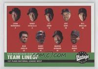 2000 Giants Lineup