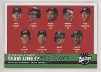2000 Pirates Lineup
