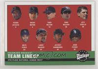 2000 Rockies Lineup