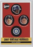 Mariners Rookies (Ichiro Suzuki, Ryan Franklin, Ryan Christenson)