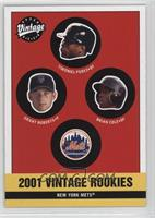 Mets Rookies (Timo Perez, Grant Roberts, Brian Cooper, Brian Cole)