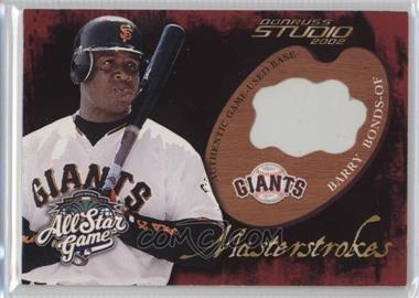 2002 All-Star FanFest Premium Wrapper Redemptions - Game-Used #GU-4 - Barry Bonds