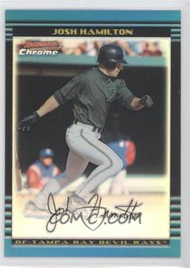 2002 Bowman Chrome - [Base] - Refractor #135 - Josh Hamilton /500
