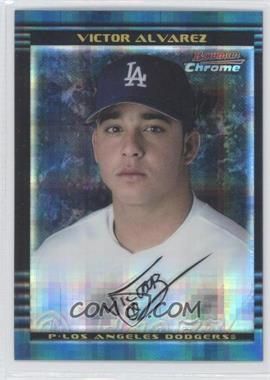2002 Bowman Chrome - [Base] - X-Fractor #222 - Victor Alvarez /250