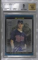 Joe Mauer [BGS 9 MINT]