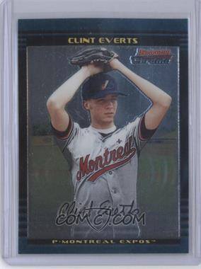 2002 Bowman Chrome Draft Picks & Prospects - [Base] #BDP1 - Clint Everts
