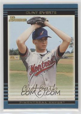 2002 Bowman Draft Picks & Prospects - [Base] - Gold #BDP1 - Clint Everts