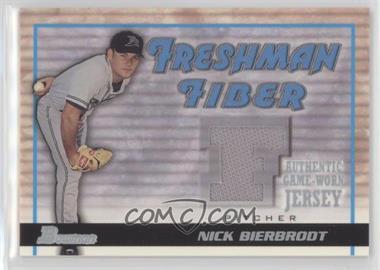 2002 Bowman Draft Picks & Prospects - Freshman Fiber #FF-NB - Nick Bierbrodt