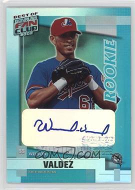 2002 Donruss Best of Fan Club - [Base] - Rookie Autographs [Autographed] #210 - Wilson Valdez