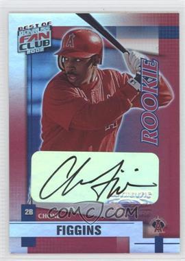 2002 Donruss Best of Fan Club - [Base] - Rookie Autographs [Autographed] #224 - Chone Figgins