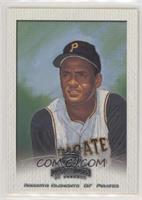 Roberto Clemente (Cap Fully Visible)