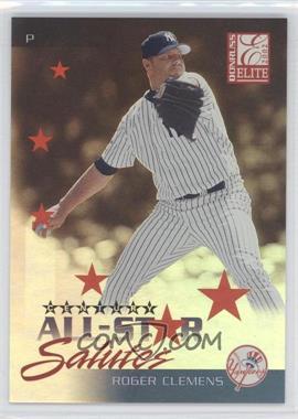 2002 Donruss Elite - All-Star Salutes - Century #AS 5 - Roger Clemens /100