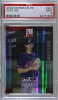 Cliff Lee [PSA 9 MINT] #/1,000