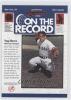 Yogi Berra /800