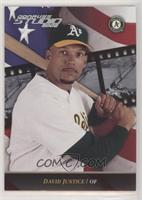 David Justice [Noted] #/5