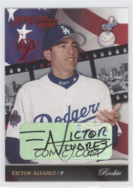 2002 Donruss Studio - [Base] - Private Signings [Autographed] #201 - Victor Alvarez /250