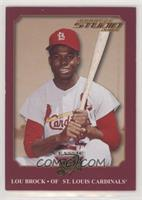 Lou Brock [Noted] #/5