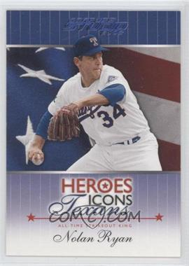 2002 Donruss Studio - Heroes Icons Texans #HIT-2.2 - Nolan Ryan /500