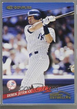 2002 Donruss Super Estrellas - [Base] #56 - Derek Jeter