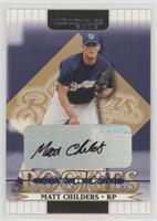 Matt Childers #/100