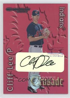 2002 Donruss The Rookies - Crusade - Autographs [Autographed] #RC-45 - Cliff Lee /500