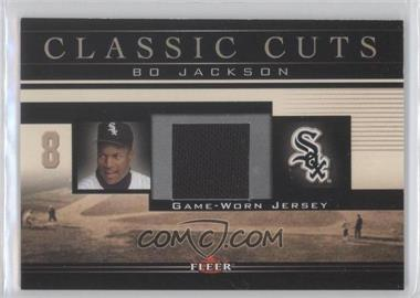 2002 Fleer - Classic Cuts Game-Used - Jerseys #BJ-J - Bo Jackson