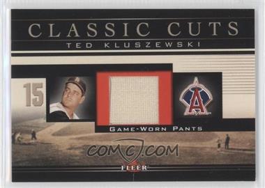 2002 Fleer - Classic Cuts Game-Used - Pants #TK-P - Ted Kluszewski