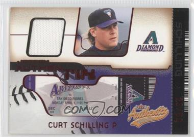 2002 Fleer Authentix - Jersey Authentix - Unripped #JA-CS - Curt Schilling /50