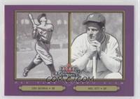 Mel Ott, Lou Gehrig