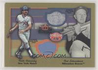 Red Schoendienst, Keith Hernandez [EX to NM]