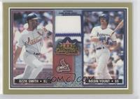 Ozzie Smith, Robin Yount Relic