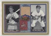 Stan Musial, Pee Wee Reese [EX to NM]