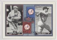 Babe Ruth, Roger Maris