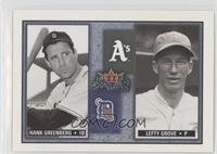 Lefty Grove, Hank Greenberg /1000