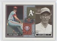 Steve Carlton, Lefty Grove /500
