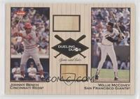 Johnny Bench, Willie McCovey