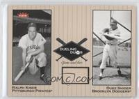 Duke Snider Relic, Ralph Kiner