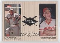 Sparky Anderson, Earl Weaver