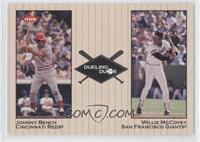 Willie McCovey, Johnny Bench